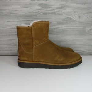 UGG ABREE II MINI Brown Bruno SHEARLING Boots